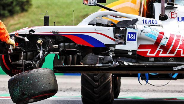 Mick Schumacher - Haas - GP Ungarn 2021 - Budapest