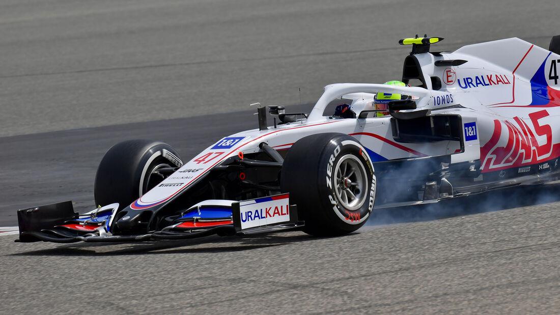 Mick Schumacher -  Haas - Test - Formel 1 - Bahrain - 12. März 2021