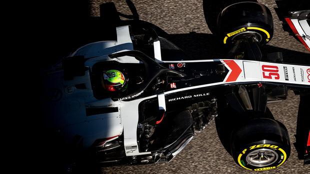 Mick Schumacher - Haas - Testfahrten - Abu Dhabi 2020
