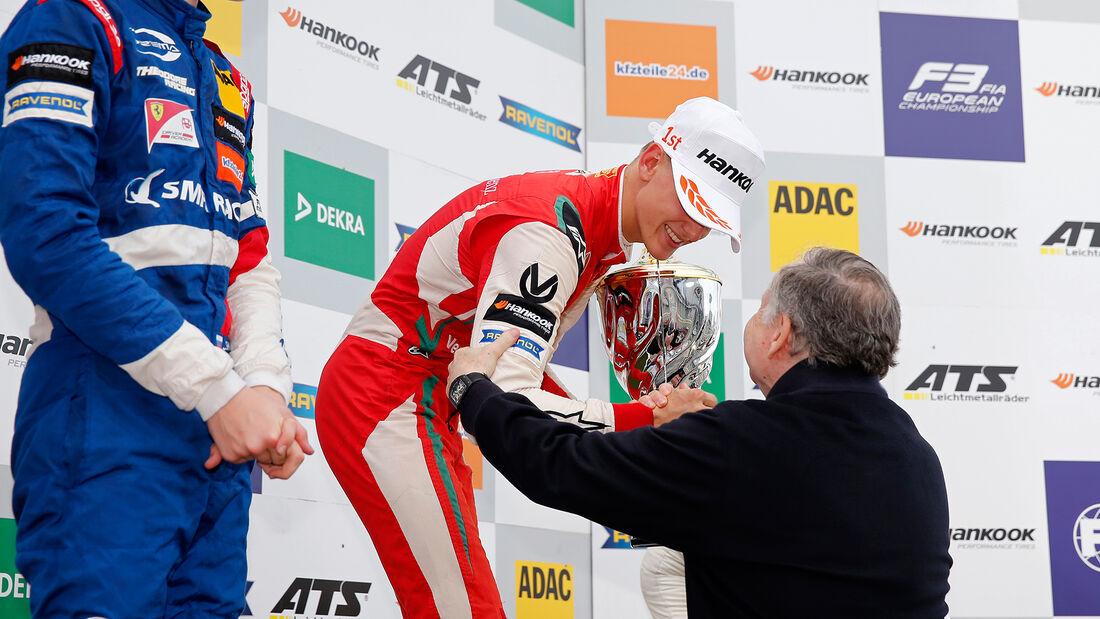 Mick Schumacher - Jean Todt - Formel 3 - Nürburgring 2018
