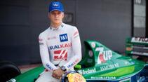 Mick Schumacher - Jordan 191 - Silverstone - Juli 2021