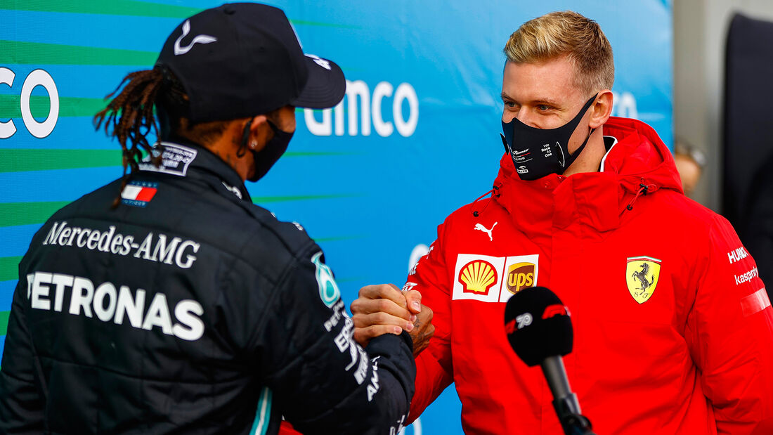 Mick Schumacher - Lewis Hamilton - GP Eifel 2020 - Nürburgring
