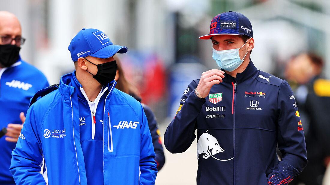 Mick Schumacher & Max Verstappen - Formel 1 - Imola - GP Emilia-Romagna - 15. April 2021