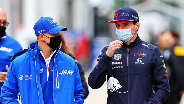Mick Schumacher & Max Verstappen - Imola - 2021