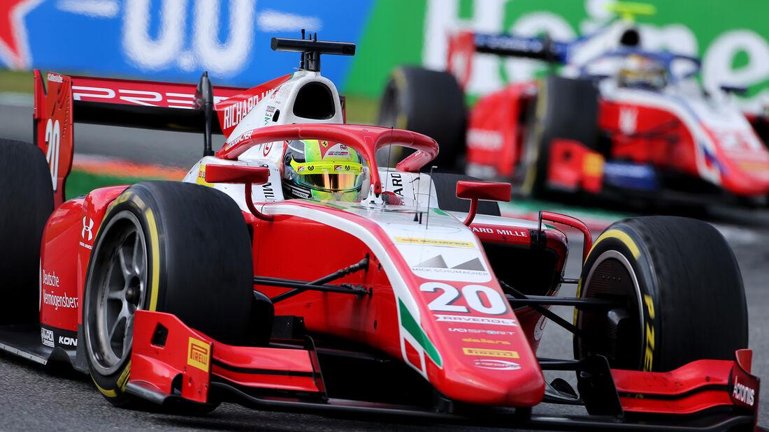 Mick Schumacher - Monza - Formel 2 - Prema