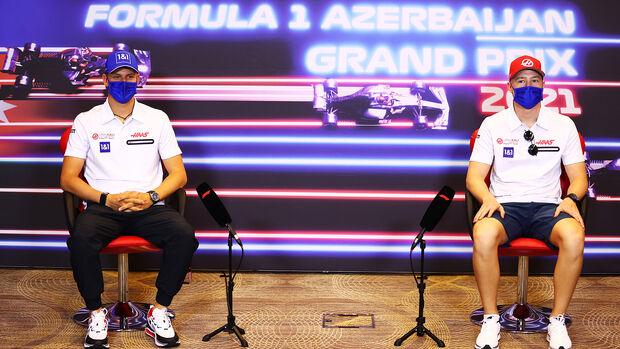 Mick Schumacher - Nikita Mazepin - Haas - GP Aserbaidschan 2021 - Baku