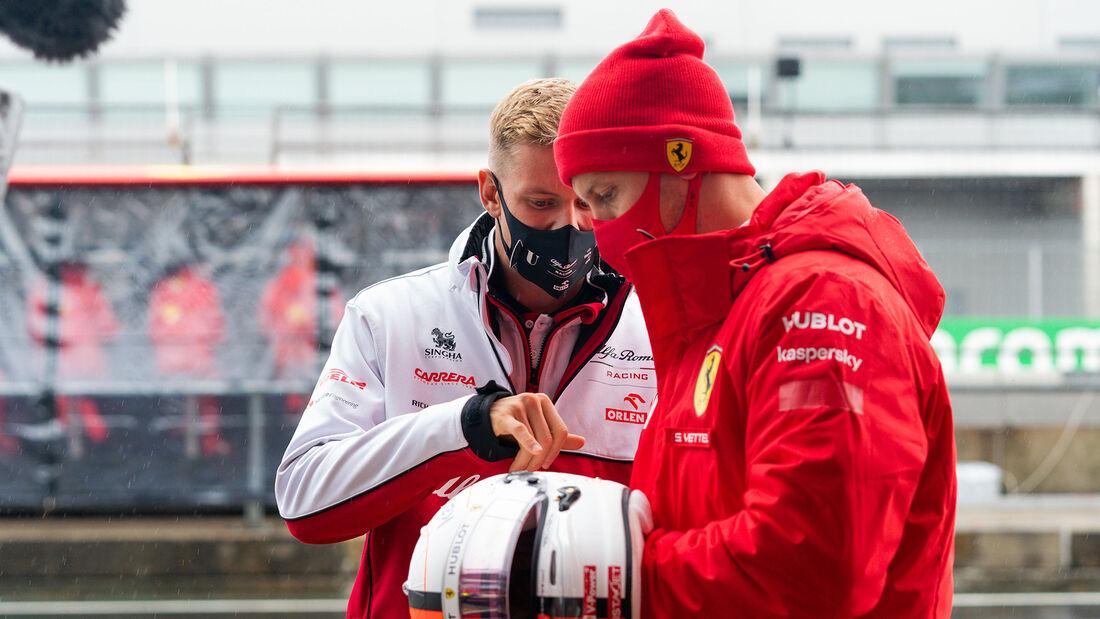 Mick Schumacher - Sebastian Vettel - GP Eifel 2020 - Nürburgring
