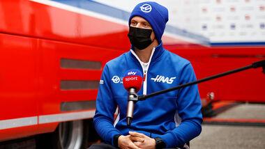 Mick Schumacher - Sky - GP Imola 2021
