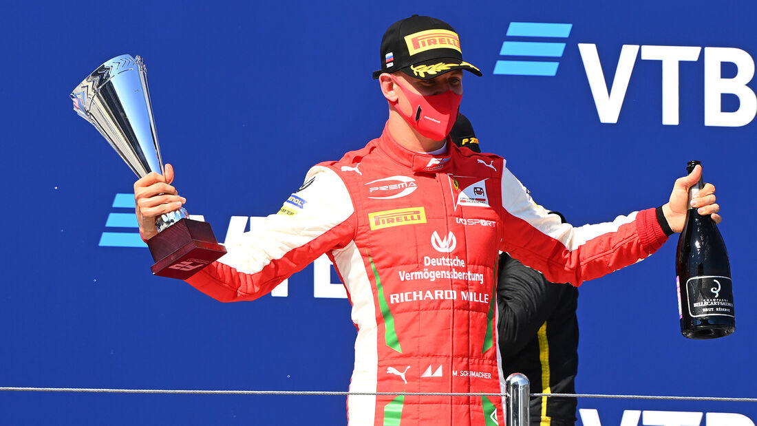 Mick Schumacher - Sotschi - Formel 2 - Prema