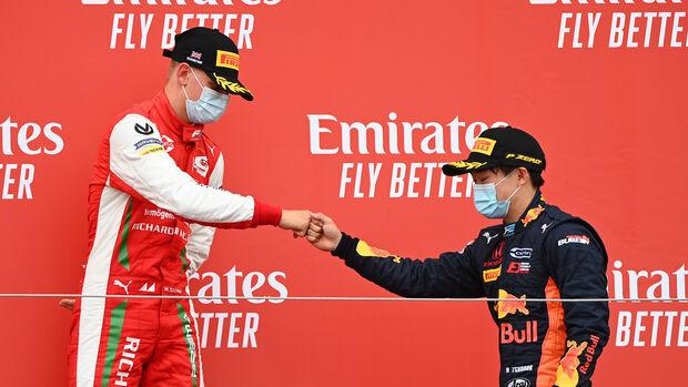 Mick Schumacher & Yuki Tsunoda - Formel 2 - 2020