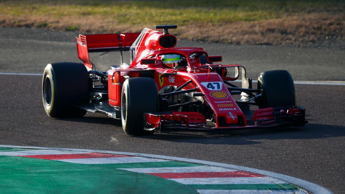 Mick Schumcher - Ferrari-Test - Fiorano - Test - 2021