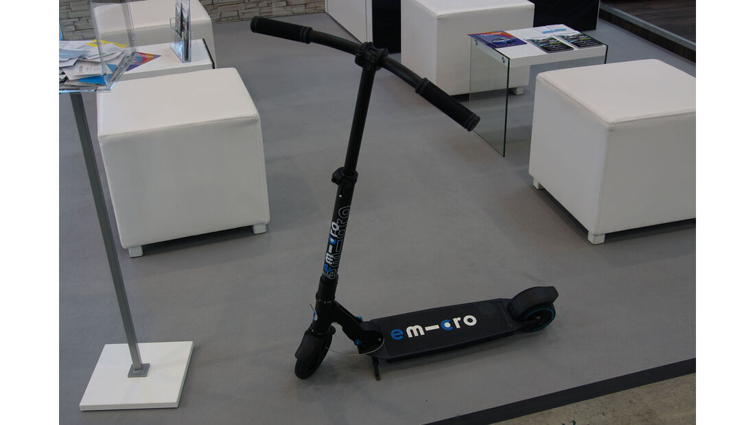 Micro Scooter - Electric Vehicle Symposium 2017 - Stuttgart - Messe - EVS30