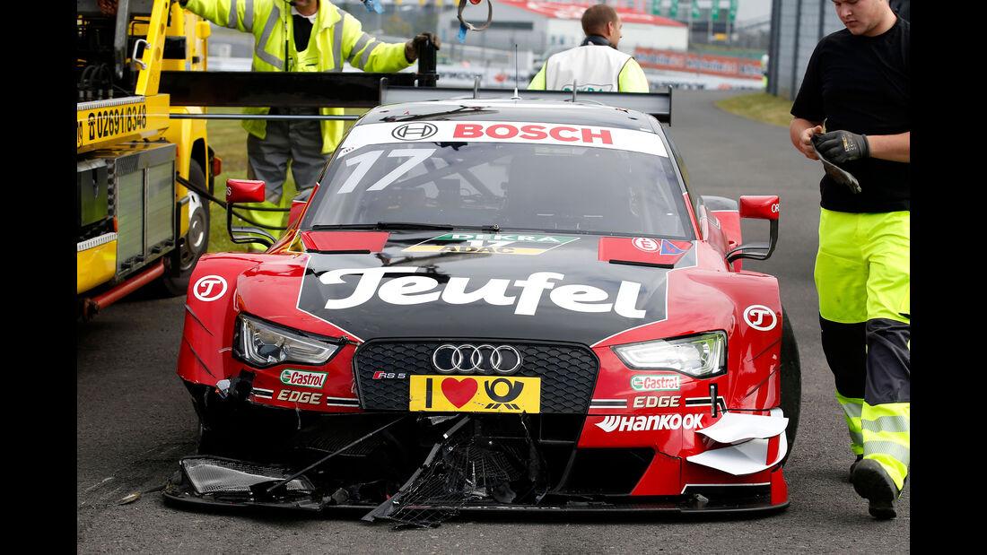 Miguel Molina - Audi - DTM - Nürburgring - 1. Rennen - Samstag - 26.9.2015