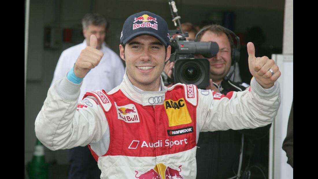 Miguel Molina DTM Oschersleben 2011