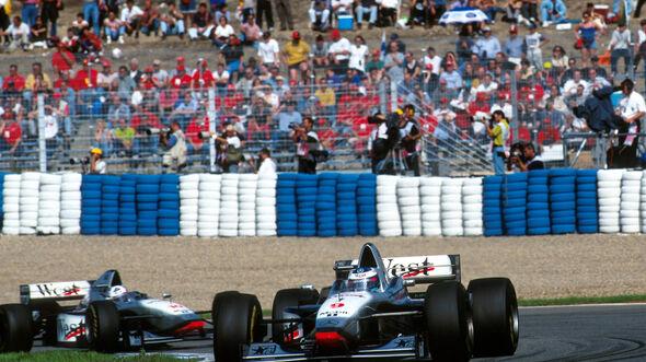 Mika Häkkinen - David Coulthard - McLaren - Jerez 1997
