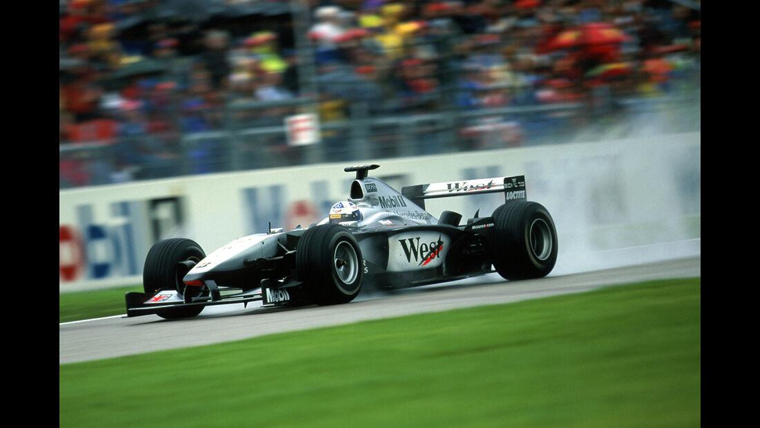 Mika Häkkinen - F1 - GP Deutschland 2000 - Hockenheimring