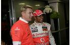 Mika Häkkinen & Lewis Hamilton