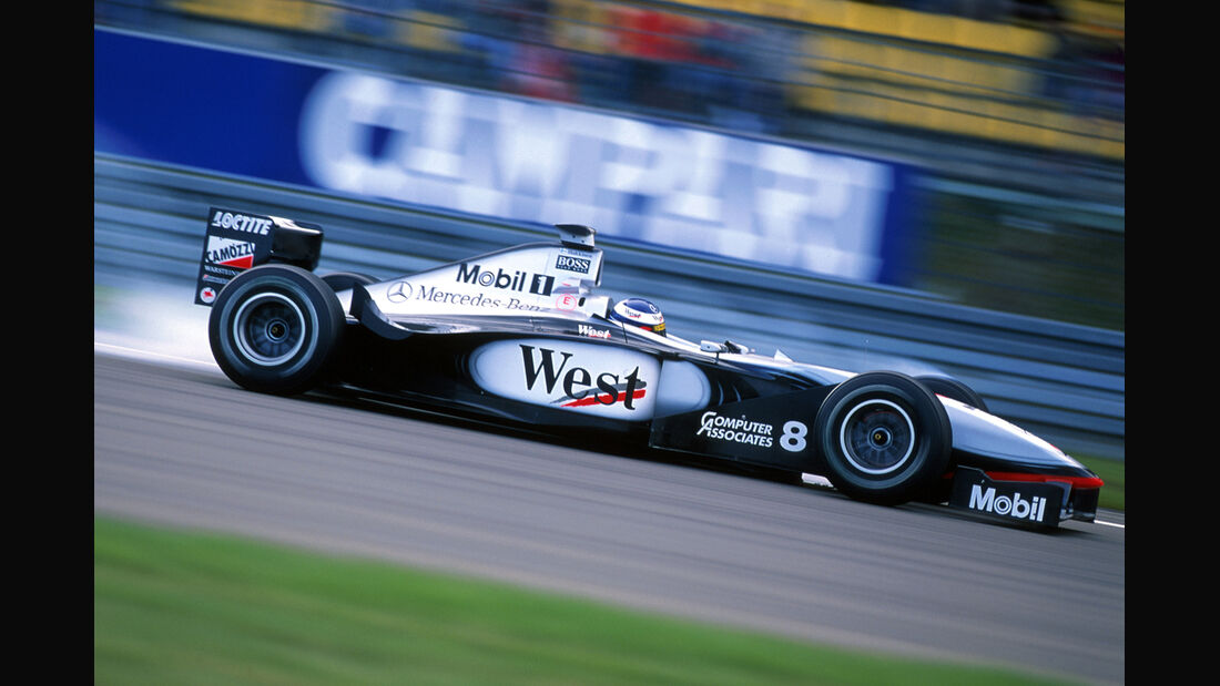 Mika Häkkinen McLaren 1998