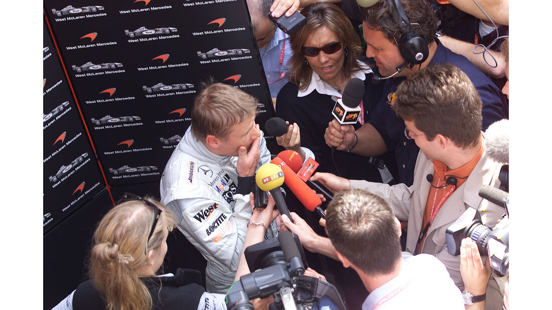 Mika Häkkinen - McLaren - GP Spanien 2001 - Barcelona