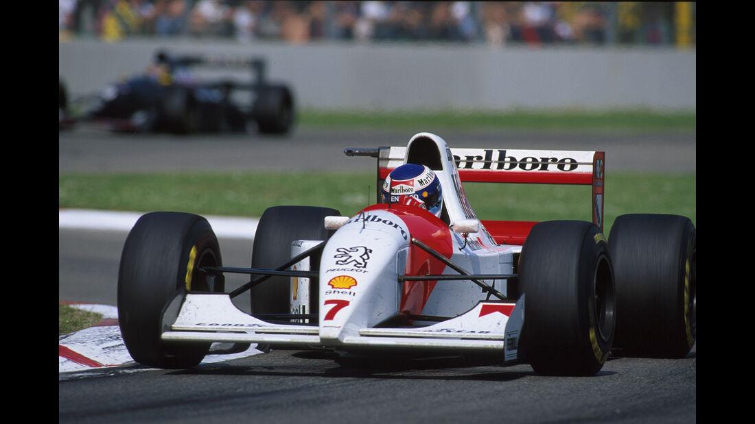 Mika Häkkinen - McLaren-Peugeot MP4-9 - GP San Marino 1994 - Imola