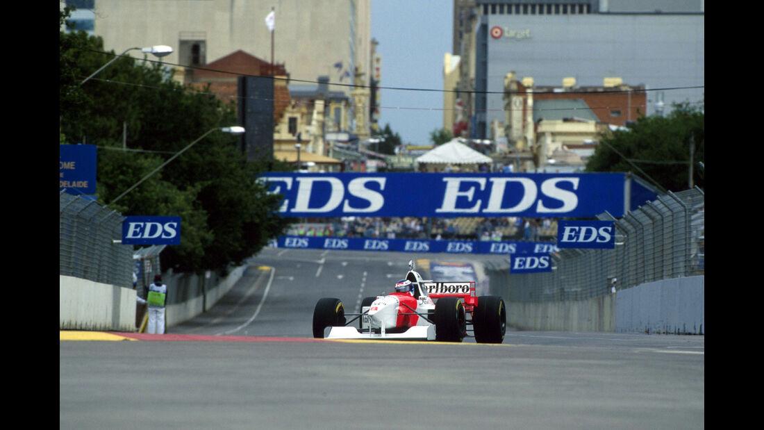Mika Hakkinen - McLaren MP4-10 - Adelaide 1995