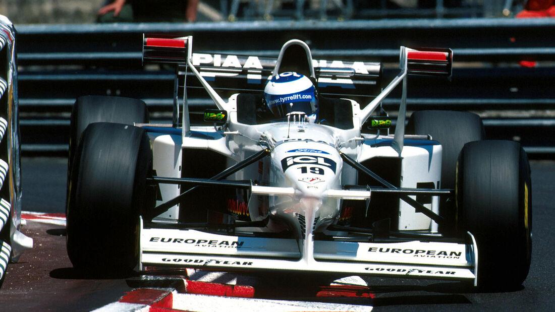 Mika Salo - Tyrrel 025 - GP Monaco 1997