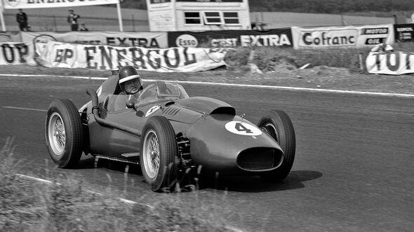 Mike Hawthorn - Ferrari Dino 246 - GP Frankreich 1958