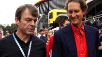 Mike Manley - John Elkann - Fiat - Formel 1 - GP Italien - 02. September 2018