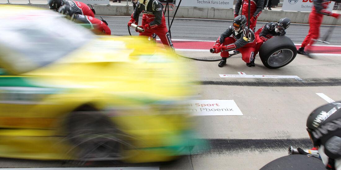 Mike Rockenfeller Audi DTM Spielberg 2012