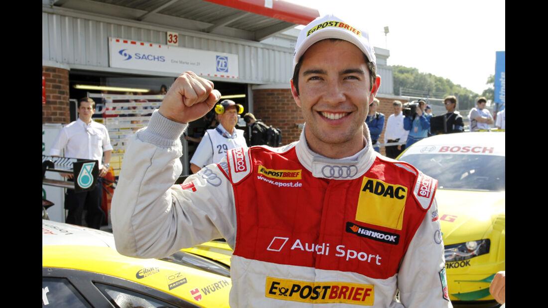 Mike Rockenfeller DTM Brands Hatch 2011