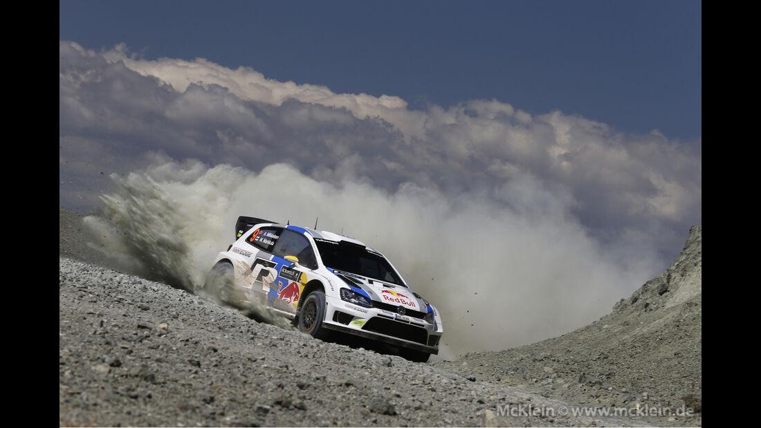 Mikkelsen - Rallye Griechenland 2013