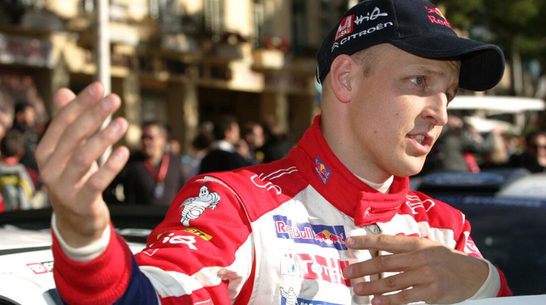 Mikko Hirvonen Citroen Rallye Monte Carlo 2012