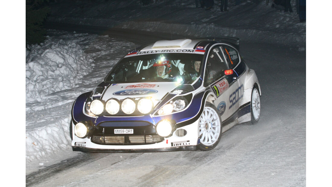 Mikko Hirvonen - Monte Carlo 2010