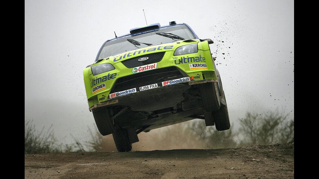 Mikko Hirvonen, Rallye Argentinien 2007, Rallye-Sprünge