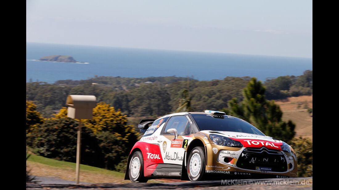 Mikko Hirvonen - Rallye Australien 2013