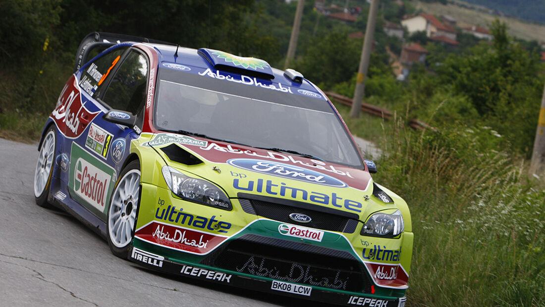 Mikko Hirvonen, Rallye Bulgarien 2010, Ford Focus WRC