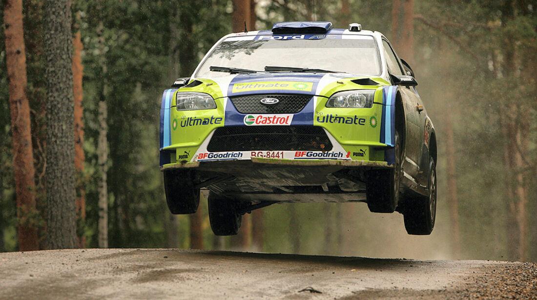 Mikko Hirvonen, Rallye Finnland 2006, Rallye-Sprünge