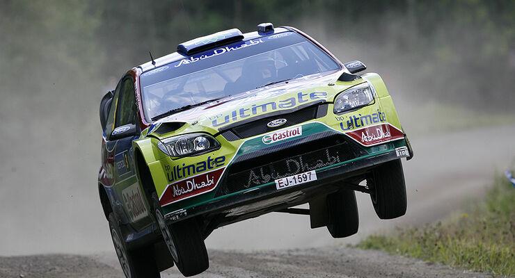 Mikko Hirvonen, Rallye Finnland 2009, Rallye-Sprünge