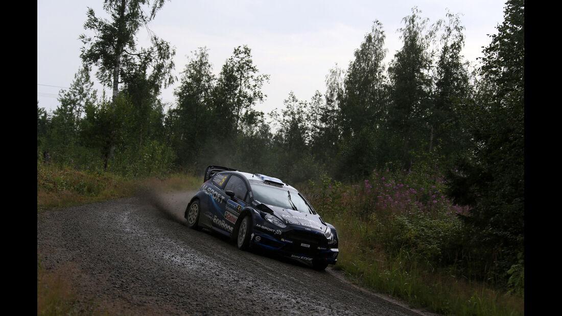 Mikko Hirvonen - Rallye Finnland 2014 - Tag 2 - Ford Fiesta WRC