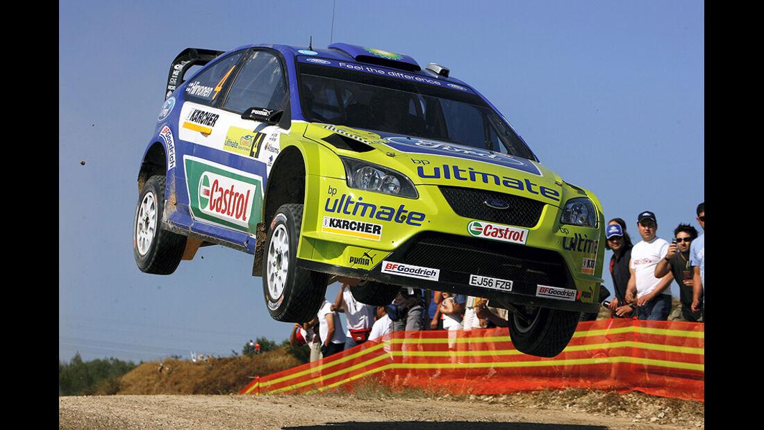Mikko Hirvonen, Rallye Griechenland 2007, Rallye-Sprünge