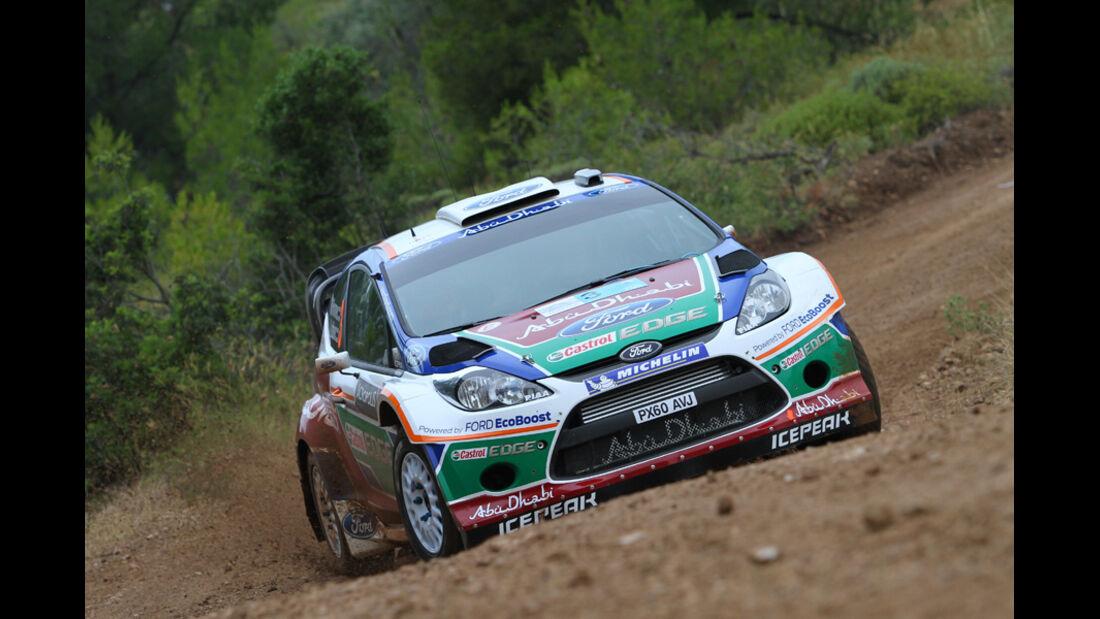 Mikko Hirvonen Rallye Griechenland 2011