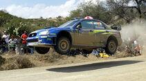 Mikko Hirvonen, Rallye Mexiko 2004, Rallye-Sprünge