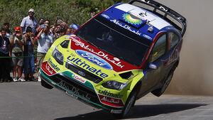 Mikko Hirvonen, Rallye Sardinien 2009, Rallye-Sprünge