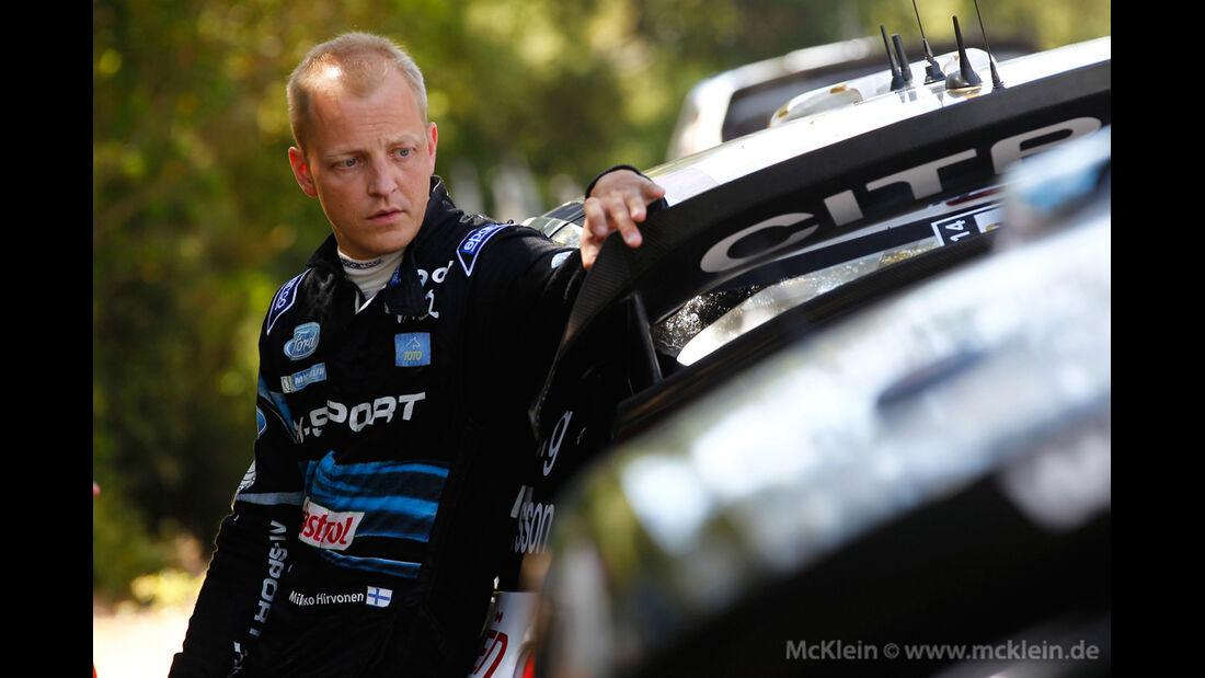 Mikko Hirvonen - Rallye Sardinien 2014