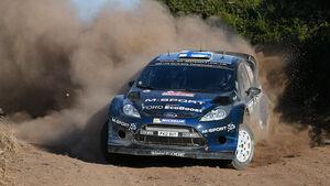 Mikko Hirvonen  Rallye Sardinien 2014 Ford