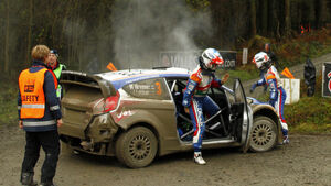 Mikko Hirvonen Rallye Wales 2011