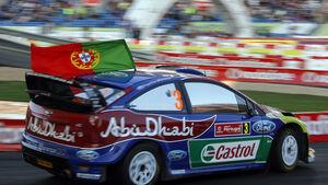 Mikko Hirvonen WRC Rallye Portugal 2009