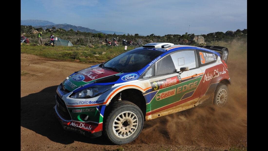 Mikko Hirvonen WRC Rallye Sardinien 2011