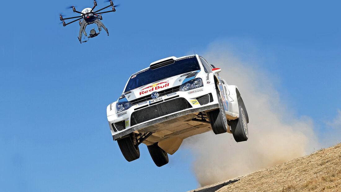Mikrodrohne, Rallye-Weltmeisterschaft, Kamera