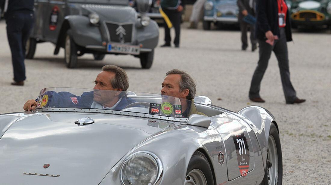 Mille Miglia 2010 - Jackie Ickx und Karl-Friedrich Scheufele